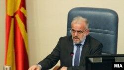 Претседателот на Собарнието Талат Џафери. Собрание, Парламент, пратеници, пратениците.