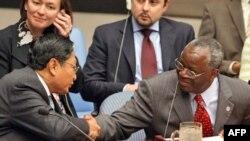 آقای گمبری گزارش سفر چهار روزه خود به ميانمار را در اختيار اعضای شورای امنيت سازمان ملل متحد قرار داد