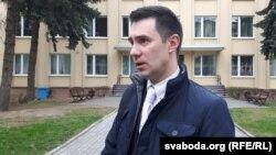 Аляксандар Губановіч, адмысловец Упраўленьня юстыцыі Гарадзенскага аблвыканкаму