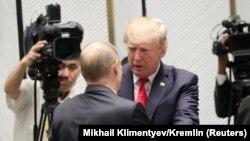 Tramp čestitao Putinu na izbornoj pobjedi (na slici dvojica predsjednika prilikom susreta u Danangu, novembar 2017.