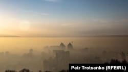 Смог над Алматы. 15 декабря 2018 года.