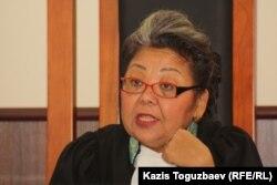 Судья апелляционной коллегии Алматинского городского суда Кульпаш Утемисова. Алматы, 11 июля 2013 года.