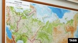 რუსეთის რუკა