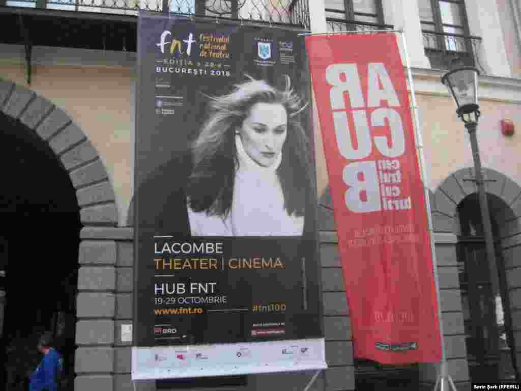 Afișul Festivalului Național de Teatru de la București, ediția 28