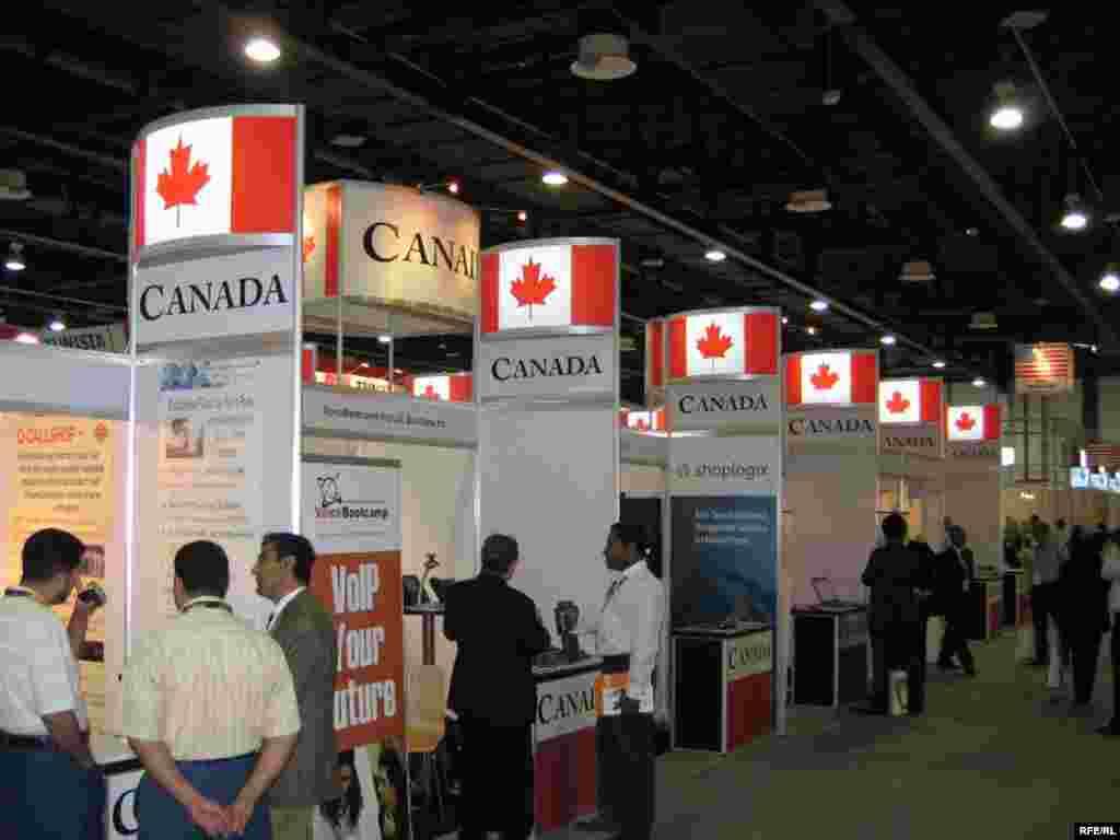 غرفه کانادا - نمایشگاه جیتکس دبی