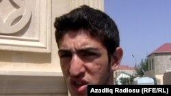 Journalist Elmin Badalov (file photo)