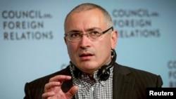 Михаил Ходорковский, экс-глава компании ЮКОС.
