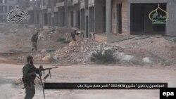 Borci Fateh al-Šam fronta tokom bitke u Alepu 1. avgusta