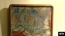 К.С. Петров-Водкин. «Отражение в воде. Самарканд». 1921