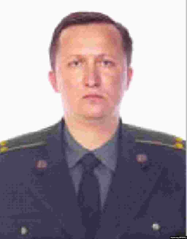 Вячеслав Кислицин - сотрудник ФСБ в российской ФМС Крыма