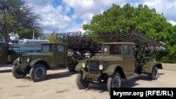 Военная техника в музейном комплексе на Сапун-Горе