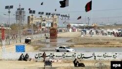 Контрольно-пропускной пункт на границе между Афганистаном и Пакистаном в Чамане. Иллюстративное фото.