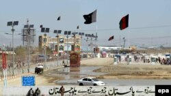 FILE: A general view of the Pakistani-Afghan border crossing in Chaman.