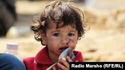 Սիրիացի փախստական երեխա