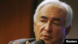 IMF Managing Director Dominique Strauss-Kahn (file photo)