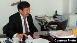 Директор Национального центра тестирования Кали Абдиев. Астана, 11 июня 2013 года.