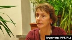 Агнешка Ромашевская, директор белорусского телеаканала «Белсат».