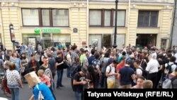 """Народный сход против """"пакета Яровой"""" (Петербург, 26 июля 2016 года)"""