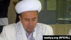 Ақтөбе облысының бас имамы Әбдімүтәлі Дәуренбеков. Ақтөбе, 3 тамыз 2012 жыл.