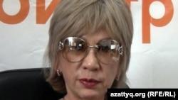 Guljan.org сайтының бас редакторы және құрылтайшысы Гүлжан Ерғалиева. Алматы, 16 маусым 2011 жыл.