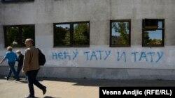 Mbishkrim kundër komunitetit homoseksual në Serbi.