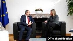 Фотография предоставлена администрацией премьер-министра Армении
