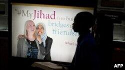 """ABŞ -Washington metrosunda reklam - """"Mənim cihadım"""" kampaniyası"""