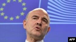 Еуропа Одағы экономикалық комиссары Пьер Московичи. Брюссель, 22 шілде 2015 жыл.