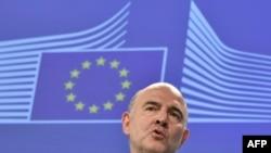 Еврокомесарот за економски и финансиски прашања Пјер Московиси.
