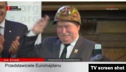 Лех Валенса, екс-президент Польщі (фото з офіційного сайту Інституту Леха Валенси)