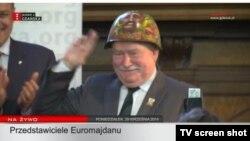 """Лех Валенса, фото с официального сайта бывшего лидера """"Солидарности"""""""