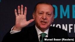Түрк лидери Режеп Тайып Эрдоган