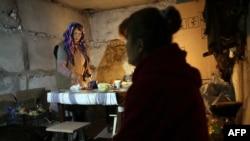 Бомбосховище у селі Піски. Листопад 2014 року