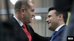 Средба на премиерот Зоран Заев со бугарскиот претседател Румен Радев во Македонија