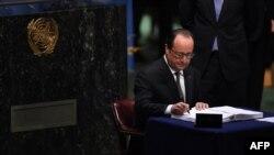 Francoise Hollande, predsjednik Francuske