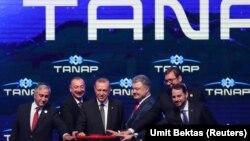 Од промоцијата на ТАНАП, Турција, јуни 2018