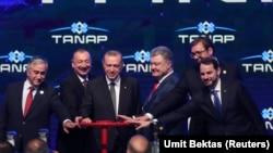 TANAP-ın açılışı