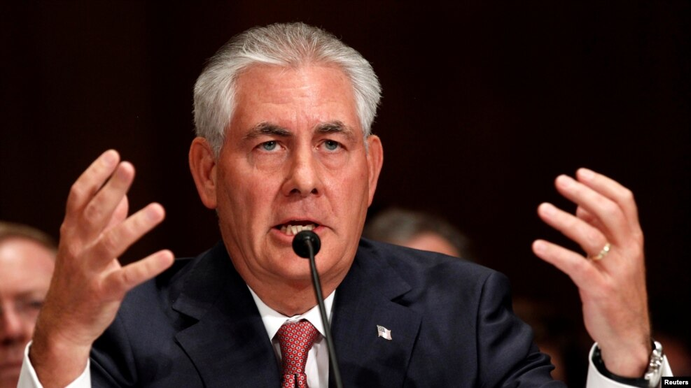 U.S. President-elect Donald Trump touted his pick to be secretary of state, Exxon Mobil Chief Executive Rex Tillerson