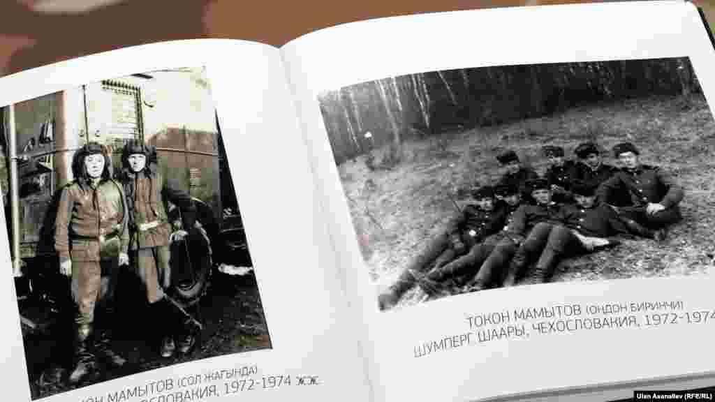 Учурунда коопсуздук боюнча вице-премьрликти аркалаган Токон Мамытов аскердик күндөрүн Чехословакиянын Шумперг шаарында өткөргөн. Токон Болотбекович 1972 - 1974- жылдар арасында зениттик артиллериялык полктун катарында советтик аба чек араларын кайтарган.