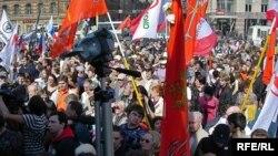 Самые драматические события развернулись как раз до начала маршей