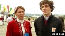 Нино Салуквадзе и Цотнэ Мачавариани