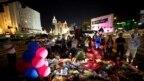 Odavanje počasti žrtvama napada u Las Vegasu, 4. oktobar 2017.