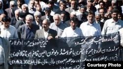 2006-cı ilin mayında mitinqlər zamanı həlak olanların anma mərasimi, Sulduz şəhəri, 2006