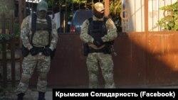 Обшуки в будинках кримських татар 31 серпня 2020 року