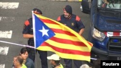 Тензии пред референдумот во Каталонија