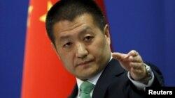 Пресс-секретарь министерства иностранных дел Китая Лу Кан.