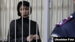 Olena Lukash in a Kyiv court on November 6