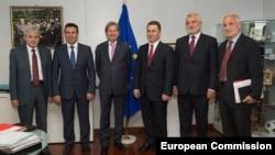 Johanes Han sa stranačkim liderima 10. juna u Briselu