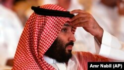Прынц Мухамэд ібн Салман, якога падазраюць у загадзе на забойства