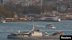 """Rusiyanın kəşfiyyat gəmisi """"Liman"""" Bosfor yaxınlığında batıb"""